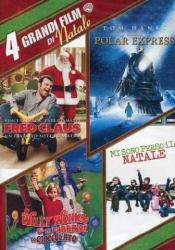 4 grandi film di Natale: Fred Claus, Polar Express, Willy Wonka e la fabbrica di cioccolato, Mi sono perso il Natale