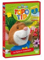 Topo Tip. Stagione 1. Vol. 3. La maschera in festa [DVD]