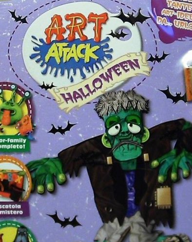 Art attack halloween