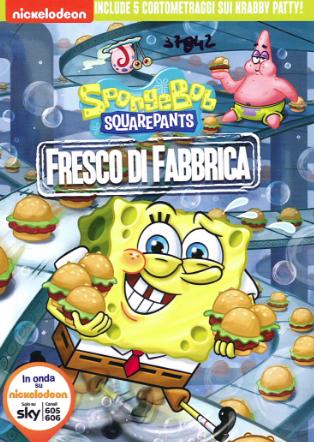 Spongebob. Fresco di fabbrica