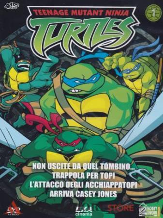 Turtles. 1: Non uscite da quel tombino... [DVD] Trappola per topi L'attacco degli acchiappatopi