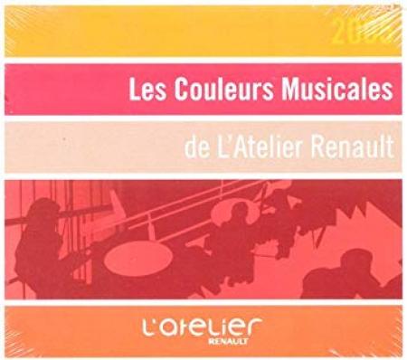 Les couleurs musicales de l'Atelier Renault